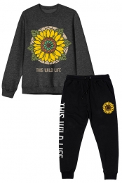 Sunflower Crewneck + Sunflower Joggers