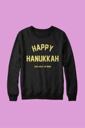Happy Hanukkah Crewneck