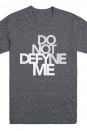 Defyne Me Tee (Dark Heather Grey)