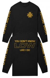 Low Long Sleeve Tee (Black)