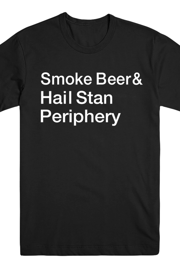 Smoke Beer Tee (Black)