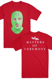 Master of Ceremony Ski Mask Tee