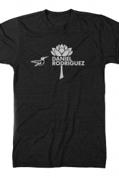 Hummingbird Tee (Black Heather)