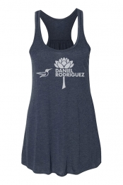 Hummingbird Racerback (Heather Navy)