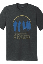 Starry Wars Tee (Black Frost) - Shook Twins