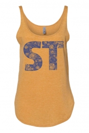Overgrown Ladies Tank (Antique Gold)