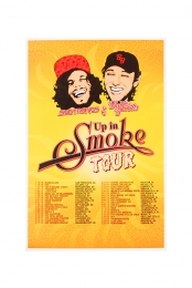 Up in Smoke Tour Poster