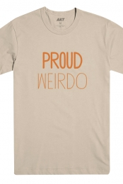 Proud Weirdo Tee (Oatmeal) + Download