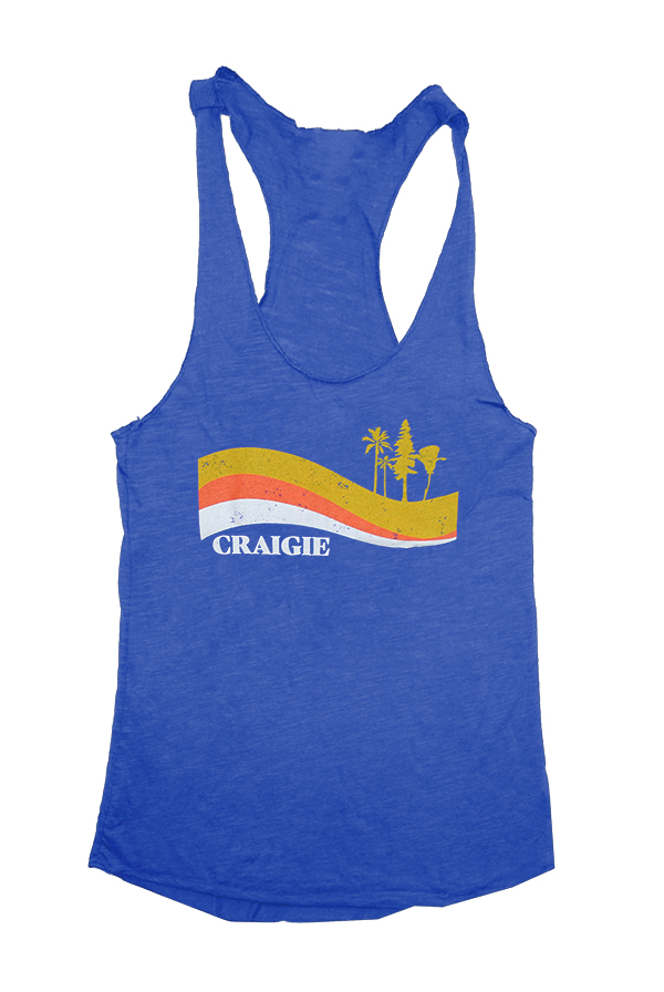 Craigie California Tank (Blue)