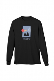 Mountain Sunrise Long Sleeve (Black)