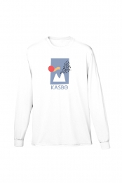 Mountain Sunrise Long Sleeve (White)