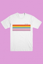 Rainbow Stripes Tee