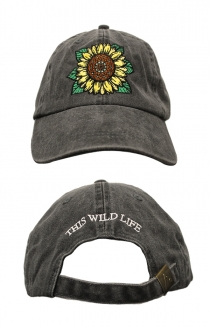 Sunflower Dad Hat (Grey)