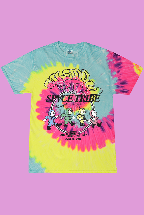Kaleidoscope Space Tribe Tee