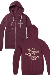 Grow Zip Up Hoodie