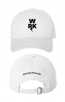 Logo Hat White