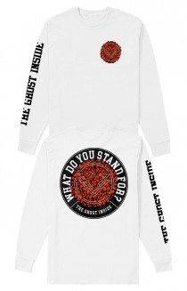 Stand For Long Sleeve Tee (White)