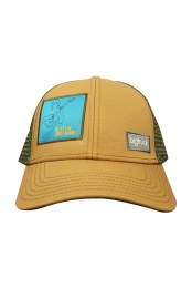 Big Truck Patch Cap (Olive/ Brown)