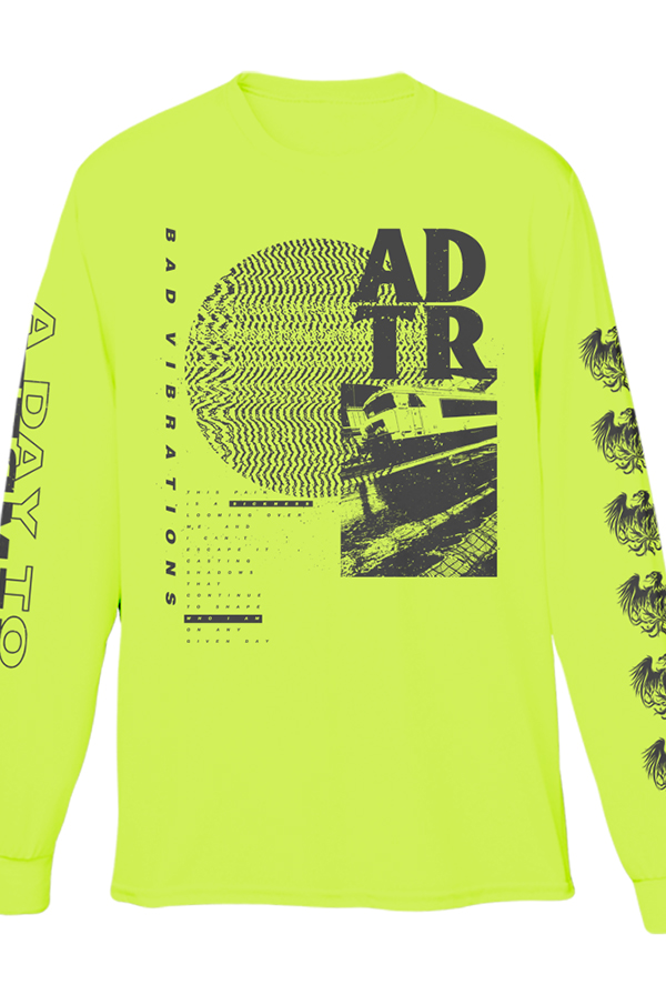 Train Long Sleeve Tee (Safety Green)