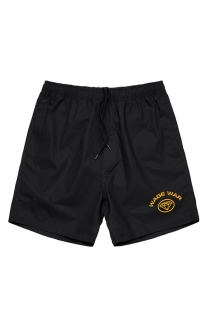 Diamond Cotton Shorts (Black)