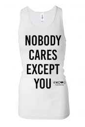 Nobody Cares Tank (White)