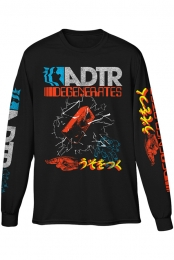 Degenerates Long Sleeve Tee (Black)