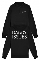 """Daddy Issues"" Hoodie (Black) - Courtney Stodden"