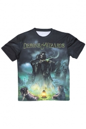 Fiddler Sublimated Tee - Demons & Wizards