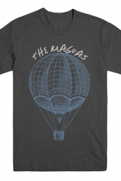 Balloon Tee (Charcoal) - The Maguas