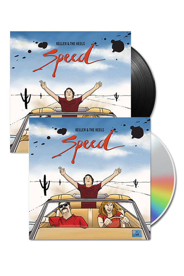 Speed Vinyl + CD + Digital Download + Instant Grat