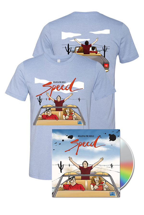 Speed CD + T-Shirt + Digital Download + Instant Grat