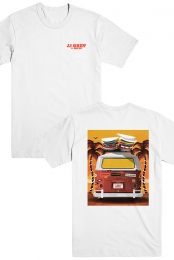 Surf Van Tee (White)