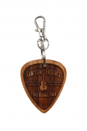Sawyer's New Free Range Folk Wood Keychain