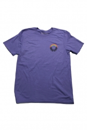 Rainbow Wreath Tee (Violet)