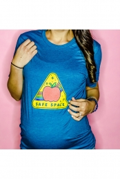 Safe Space Tee (Navy)