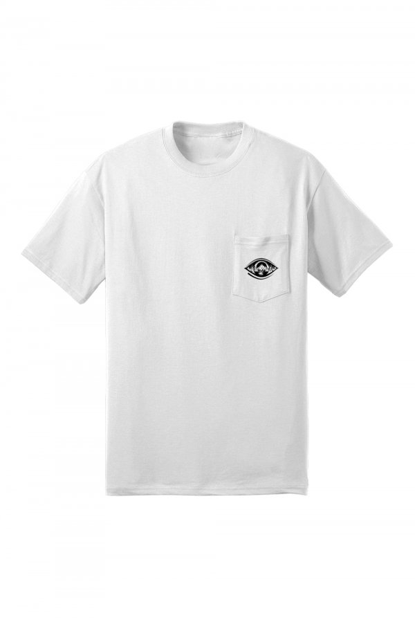 Eye Pocket Tee (White)