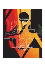 An Evening With Real Estate - Limited Edition Chicago Poster