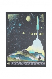2013 Winter Tour Rocket Poster