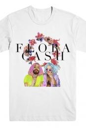 Painted Tee - Flora Cash