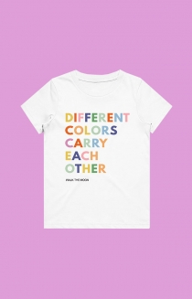 Different Colors Toddler Tee