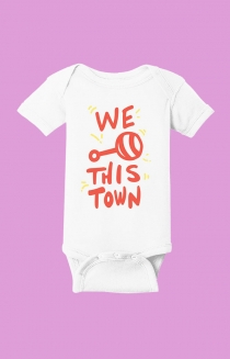 Rattle This Town Onesie