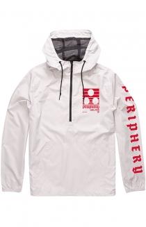 Descending Windbreaker (White)