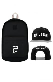 P Logo Backpack + Collegiate Snapback