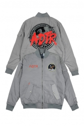 Eagle Bomber Jacket (Gray)