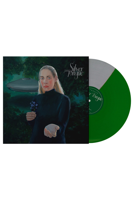 "Silver Tongue Limited Edition LP ""Saturn's Return"" (Silver/Green)"