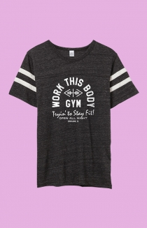Work This Body Gym Tee