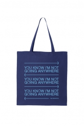 You Know Tote (Royal Blue)