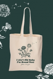 Dandelion Tote Bag (Canvas)