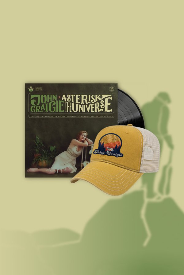 Asterisk the Universe Vinyl (signed) + Hat