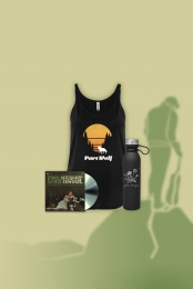 Asterisk the Universe CD (signed) + Part Wolf Tank+ Water Bottle